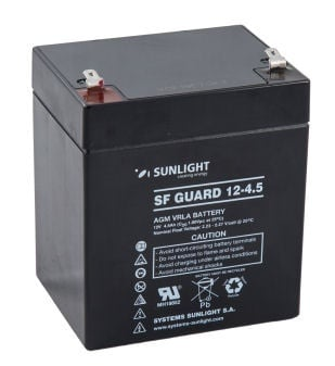Акумулатор SUNLIGHT 12V 4,5AH  SFG