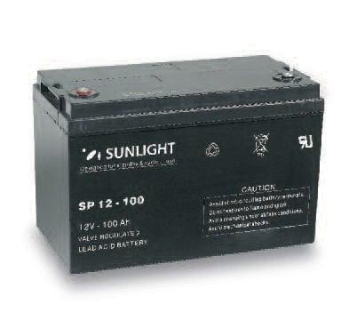 Акумулатор SUNLIGHT 12V 100AH  SPA