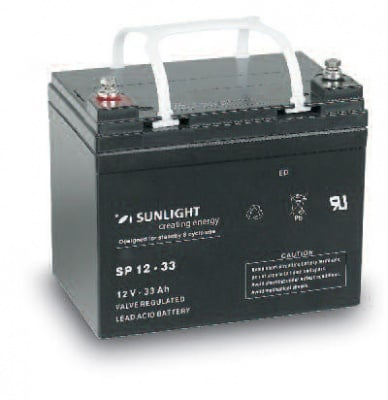 Акумулатор SUNLIGHT 12V 33AH  SPA