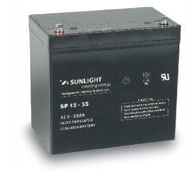 Акумулатор SUNLIGHT 12V 55AH  SPA