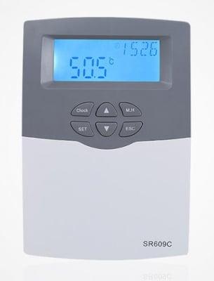 Контролер EMDE-solar SR-609C за слънчев колектор под налягане