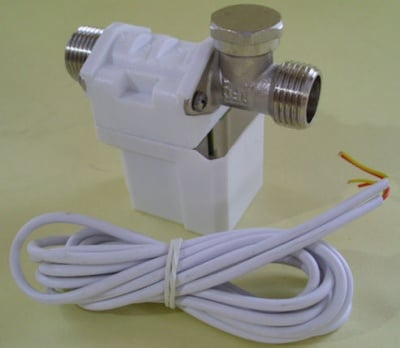 Електромагнитен клапан 12V- соленоиден вентил за контролер на слънчеви бойлери
