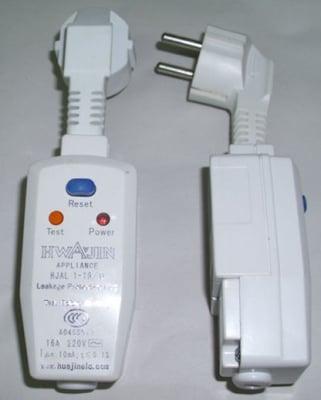 Щепсел-защита за ел. нагревател 1500 W за слънчев колектор