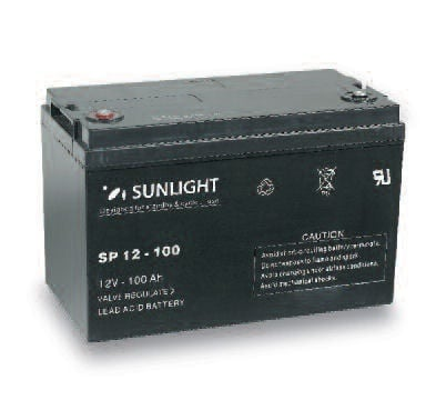 Акумулатор SUNLIGHT 12V 100AH  SPA
