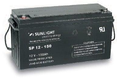Акумулатор SUNLIGHT 12V 150AH  SPA