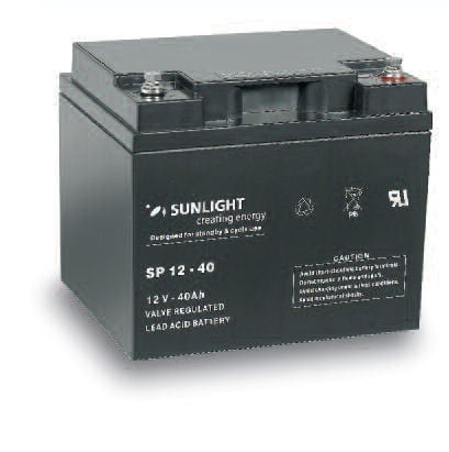 Акумулатор SUNLIGHT 12V 40AH  SPA