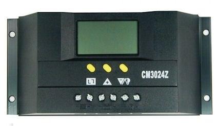 Контролер регулатор за соларни панели 12V-24V/ (20A) с дисплей и вход за термодатчик