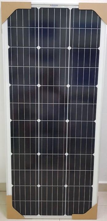 ФОТОВОЛТАИЧЕН ПАНЕЛ EMDE-solar Слънчев, соларен панел  100W/ 12V монокристален силиций