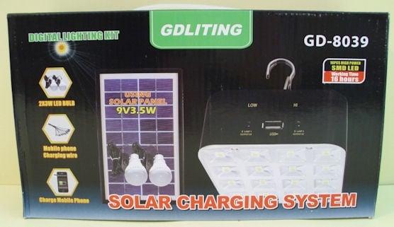 Лампа Соларна Система Осветителна  GD - 8039