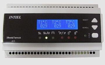 Диференциален термостат  DT-3.3 за слънчеви инсталации
