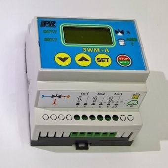 Диференциален термостат  Термостат за управление на смесителен вентил по фиксирана стойност или с корекция по околна температура 3WM+A