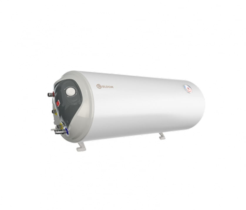 Комбиниран бойлер 80M2, лява серпентина, хоризонтален, емайлиран  WH08039LSL