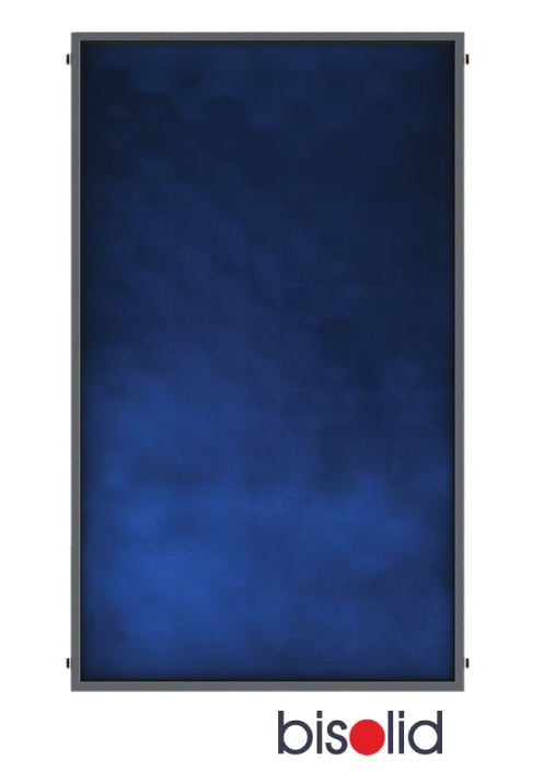 Плосък слънчев колектор HP 180, селективен, 1.76 m2, Blue
