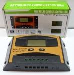 Контролер регулатор за соларни панели 12V-24V/ (10A) с дисплей